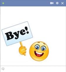 Bye Emoticon