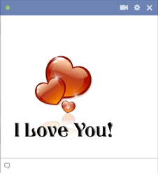Facebook Chat Code For I Love You Emoticon
