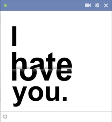 I Hate You Emoticon