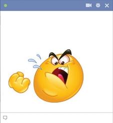 Facebook Mad Emoticon