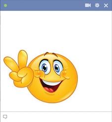 Facebook Peace Smiley