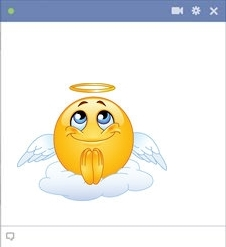 Angel Smiley For Facebook