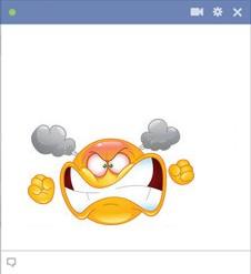 Facebook Angry Emoticon